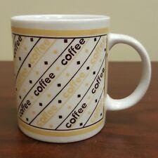 1990 Houston Foods Standard Morning Joe Coffee Cup Design Mug