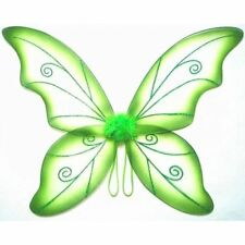 Green Adult Dress Up Fantasy Butterfly Fairy Wings Tinkerbell Womens Costume
