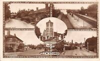 POSTCARD   BERKSHIRE   TWYFORD   Scenes  (  Railway  Station  )  Circa  1915  RP