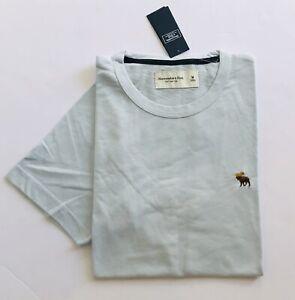 NWT ABERCROMBIE & FITCH A&F MEN Short Sleeve Soft Crewneck Tee T-shirt, size L