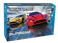 New Scalextric Aston Martin Supreme Velocity Track Set, Ideal Birthday Gift.