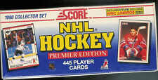 1990-91 SCORE HOCKEY FACTORY SEALED SET 1-445