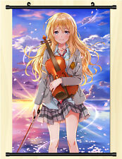 "8""*12"" Home Decor Japanese Anime Shigatsu wa Kimi no Uso Wall Poster Scroll O"