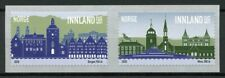Norway Architecture Stamps 2020 MNH Bergen 950 Years & Moss 300 Years 2v S/A Set