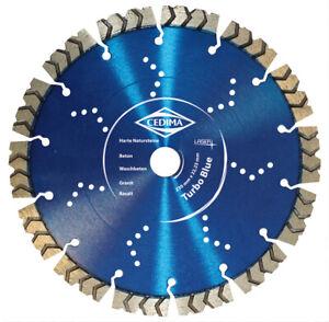 Blue Super Turbo Beton Profi-Trennscheibe versch. Durchmesser und Bohrungen