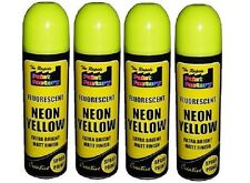 4 Fluorescent Neon Spray Paint Matt 200ml Auto Car Creative Painting DIY Tin Can
