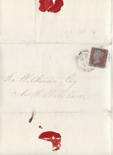 1856 QV NORFOLK NORWICH COVER WITH A GOOD 1d PENNY RED STAMP 99p START!