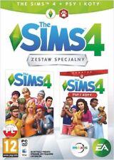 THE SIMS 4 + DODATEK PSY I KOTY PC DVD PL POLSKI POLSKA WERSJA POLISH NOWA