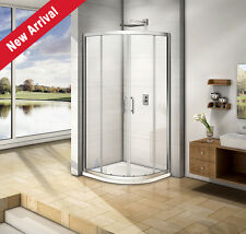 900x900mm Quadrant Shower Enclosure 6mm Glass Corner Cubicle Screen Door