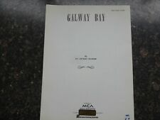 GALWAY BAY, piano , vocal guitar by Dr. Arthur Colahan - MCApublishing