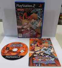 SONY Playstation 2 PS2 PSX2 PAL ITALIANO YU-GI-OH! THE DUELISTS OF THE ROSES Ita