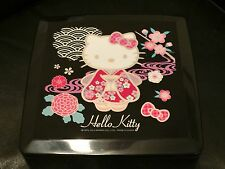 Sanrio Kimono Hello Kitty 3-Tier Lunch Container BPA Free(Japanese Style) ~ NWT!