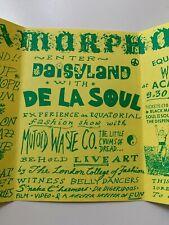 More details for metamorphosis iii rare rave flyer 25th march 1989 brixton academy de la soul