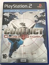 CONFLICT GLOBAL STORM - SONY PS2 GAME - ORIGINAL & COMPLETE WITH MANUAL-VGC