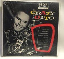CRAZY OTTO SELF TITLED DECCA DL 8113 MONO ORIGINAL 1955 In Shrink Record Lp