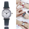 Newly Women's Leather Strap Watches Casual Quartz Analog Round Dial Wrist Watch