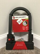 NEW Schwinn Max Security Key U-Locks
