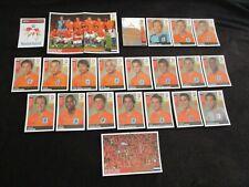 NEDERLAND HOLLANDE NETHERLANDS Equipe team Complete panini EURO 2008 UEFA