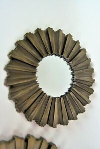 Round Wall Mirror Bronze Sunburst Champagne Gold-Silver Wall Mirror Round Small