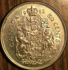 1962 CANADA SILVER 50 CENTS COIN