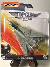 Matchbox Top Gun Maverick F-14 Tomcat Diecast 1/64 4/15 Airplane Movie
