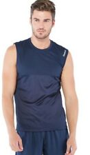 Mens Vest Top Reebok Tech Vest Navy Size XLarge New With Tags