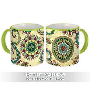 Gift Mug : Mandalas Patterned Decoration Abstract Modern Interior