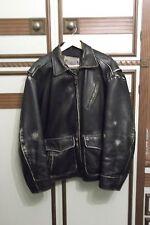 giacca di pelle tipo motociclista tg xl Rifle