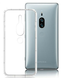 For Sony XZ2 Premium H8166 TPU Protective transparent Case Cover