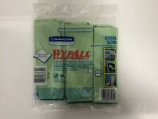 WypAll 83630 Microfiber Cloths 15 3/4 x 15 3/4 - Green - 6/Pack - New & Sealed