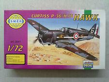 SMER 0841 Curtiss p-36/h.75 Hawk 1:72 Nouveau & emballent dans son emballage d'origine