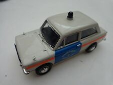 1/43 CORGI VANGUARDS VA02621 HILLMAN IMP RENFREWSHIRE & BUTE POLICE CAR