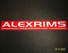 1 AUTHENTIC ALEX WHEEL RIMS STICKER #3 / DECAL / AUFKLEBER