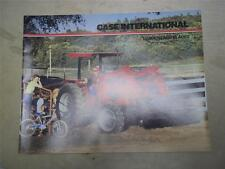 IH International Sales Brochure~Case Loaders/Blades for Tractors