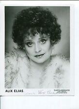 Alix Elias Rock 'n' Roll High School Hooperman Signed Autograph Photo