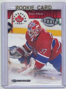 97-98 Donruss Canadian Ice Tomas Vokoun Rookie Card RC #138 Mint