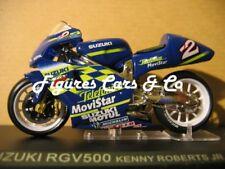 1/24 MOTO  GP  SERIE 1 N°8 SUZUKI RGV 500 2000  KENNY ROBERTS JR  #2