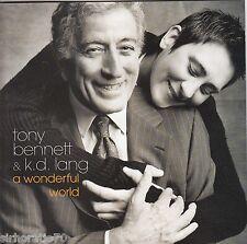 TONY BENNETT & K.D. LANG A Wonderful World CD