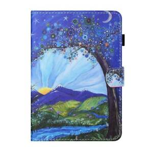 Pattern PU Leather Smart Stand Case Cover for iPad 9.7 10.2 Pro 11 Air 4 Mini 5