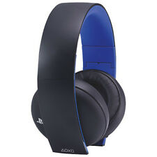 Sony PlayStation 4 PS4 Gold Wireless Stereo Headset Only