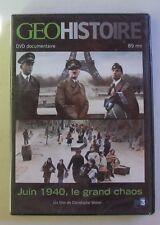 DVD JUIN 1940 LE GRAND CHAOS - GEO HISTOIRE - NEUF