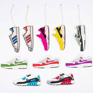 Car Trainers Sneakers Air Freshener Scents Fragrance Hanging Car Home Office