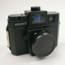 Holga 120 CFN Medium Format Color Flash Camera With Carrie Bag