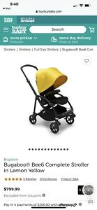 Bugaboo Bee Standard Single Seat Stroller