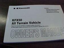 Kawasaki KSF50B Owner's Manual