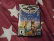 Walt Disney?Tinkerbell Die Legende vom Nimmerbiest DVD?Film?Abenteuer?Neuwertig
