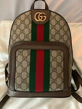 100% Authentic Gucci Backpack Ophidia GG Small NEW