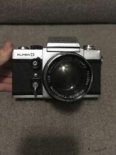 Beseler Topcon Super D 35mm Camera with 1:2.8 f10 CM Lens US Navy Camera