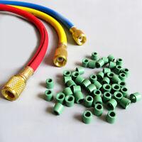 "50pcs  A/C 1/4"" Charging Hose Manifold Repair Sealing O-ring Gasket Replacement"