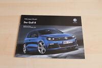 84707) VW Golf VI R - Preise & technische Daten & Ausstattungen - Prospekt 07/20